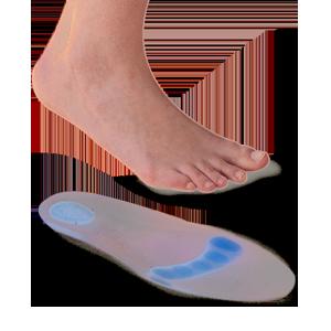 Plantilla lisa punto azul