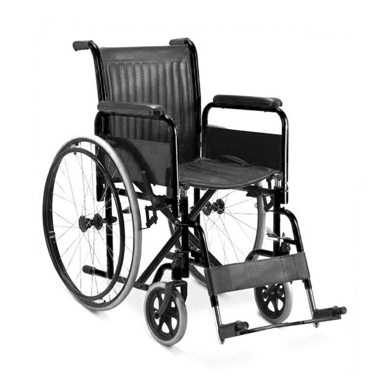 Silla de ruedas estándar llanta neumática pieceros y braseros removibles