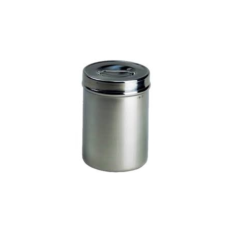 Tarro algodonero en acero inoxidable 1.2 litro