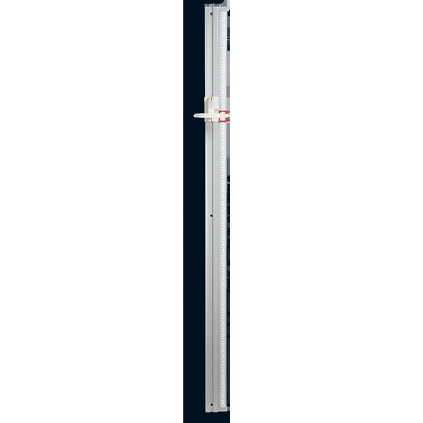 Tallimetro mecanico para fijacion a la pared 216