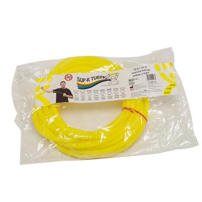 Tubo elástico x metro color amarillo