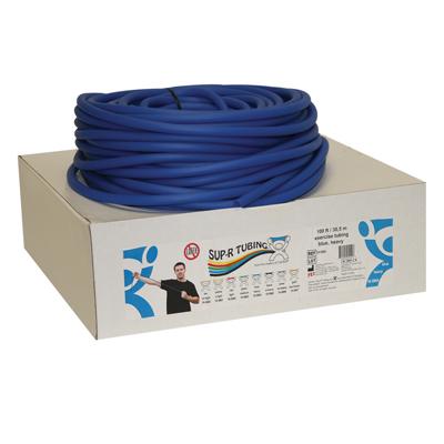Tubo elástico x rollo color azul
