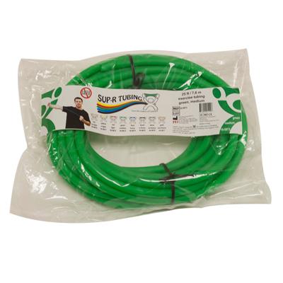 Tubo elástico x metro color verde tubing elástico